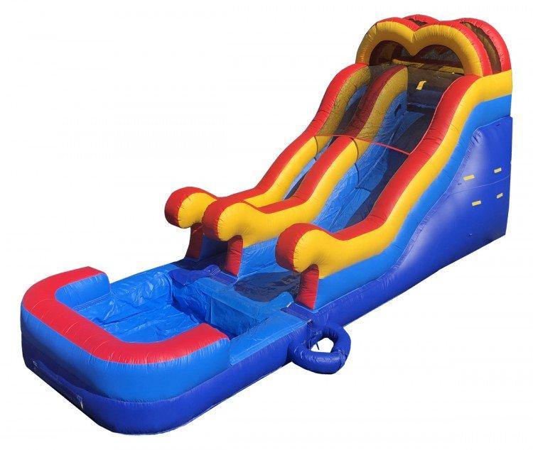 14ft Double Dip Slide Wet/Dry